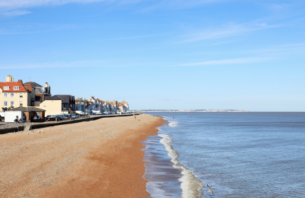 Deal Seafront in Kent
